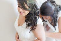 wedding - hair(piece and do)