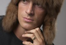 Stylish Men's Fur Hats / Real Men's Fur Hats - Made in Italy