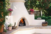 Outdoor Fireplace / by Tulsa Landscape