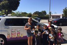 Kern's Back to School / Kern's Street Team making kids in Southern California happy.
