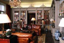 secret study/library/etc / by Lauren Connell