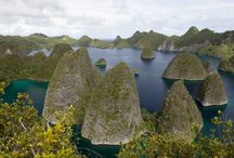 Raja Ampat Exploration .west papua - INDONESIA / Raja Ampat salah satu tempat favorit bagi wisatawan yang datang berlibur di indonesia bagian timur kepulauan indonesia