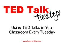Learning with TED / TED Talks, TEDed