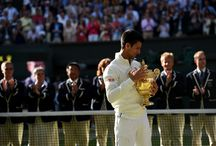 Wimbledon 2014 / Players in action: The Championships 2014