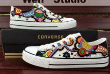 topánky malovane