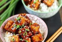 Tofu Temptations / Vegetarian and Vegan Tofu Recipes. Tofu can be bland, the secret is in the preparation. Check out these recipes for tofu recipe that will thrill your taste buds.
