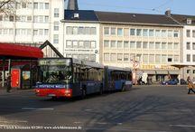 Bonn - Busse MAN NG 313/323 Baujahre 2002 - 2007 / Sie sehen hier eine Auswahl meiner Fotos, mehr davon finden Sie auf meiner Internetseite www.europa-fotografiert.de.