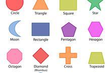 matematikk geometriske former