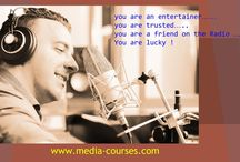 Radio Presenter & Production Course London / Practice and explore your News presenting voice and gain confidence working in the studio reading and preparin