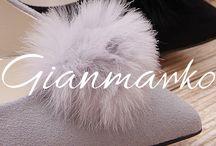 Gianmarko / Skórzane obuwie damskie