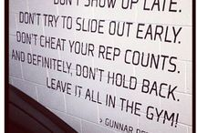 don't hate, MOTIVATE / fitness stuff / by Kat Leishman