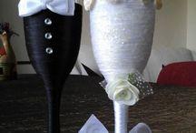 decoración de copas