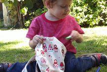 Babies & Toddlers ♥ Flies in my eyes / Quilts, backpacks and toys for babies and toddlers by Flies in my eyes.