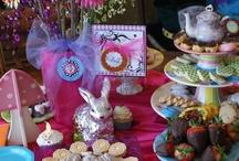 Elizabeths Alice in Wonderland Party