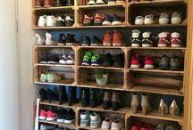 Muddy boot room