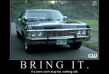 Supernatural (: / Another fangirling board. / by Heide Schulz