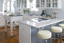Kitchens / Accessories, Appliances, Seating, Flooring, Lighting, Overall Look, Cabinets, Storage Ideas, Clever Design / by Allie Reiter