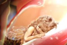 angel baby photography