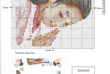 Japan / China Cross stitch