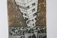 etching графика Ocheredko Tetiana