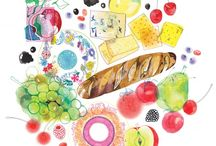 Food Illustration / by Carmen Leung