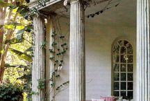 ancient greek-roman houses