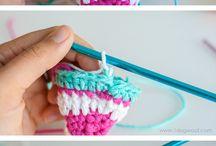 Crochet Invisible Seam Stitch