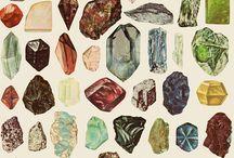 Minerały i tp. / O minerałach, skałach, i tp.