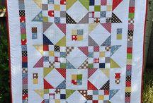 Moderne quilt sterren