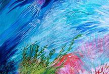 GALERIE DES PEINTRES /  Ce tableau est dédié aux peintres ALM .