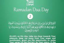 Ramadan 30 days duaa