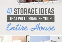 Home design and storage