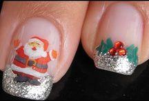 Weihnachten / Weihnachtsnägel