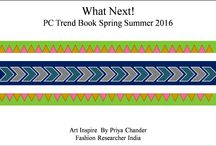 Spring Summer 2016 / #Fashion #Textile #Homefurnishing #lifestyle #Artworks #conceptboards #colorpalettes #springsummer2016 #prints https://www.facebook.com/pages/What-Next-Priya-Chander-Trend-Book/372948049521541