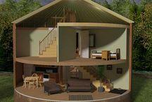 Yurt/Cabin Living