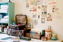 Inspirations déco: Bureau, atelier