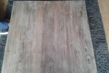 hout vergrijzen