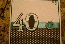 Greeting Cards / A range of handcrafted greeting cards in various colours, themes and sizes.