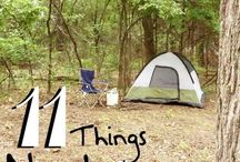 Camping and Outdoor Activities