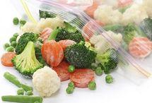 Mrazená zelenina a ovocie postup