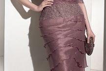 Vestido cor