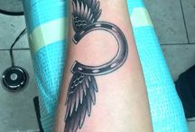 Tetování křídel