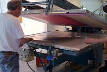 Printing with Gary Lichtenstein