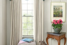 Window Treatments / by Rebecca Loewke Interiors
