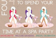 Four Great Ways to Spend Your Time at a Spa Party