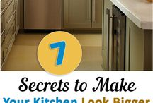 secrets to make your kitchen look bigger