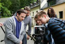 Imagefilm-Dreh an der SRH Fachhochschule Gera Juni 2015 / hdpk Studierende des Studiengangs Motion Design drehten in Gera den Imagefilm für die SRH Schwesterhochschule.