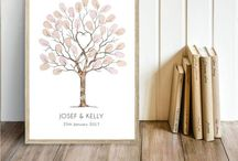 I want a wedding footprint tree for my special day!