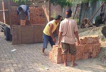 Pengiriman batu bata