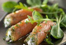 accompagnement ( saumon fumé )ou ( ordinaire )